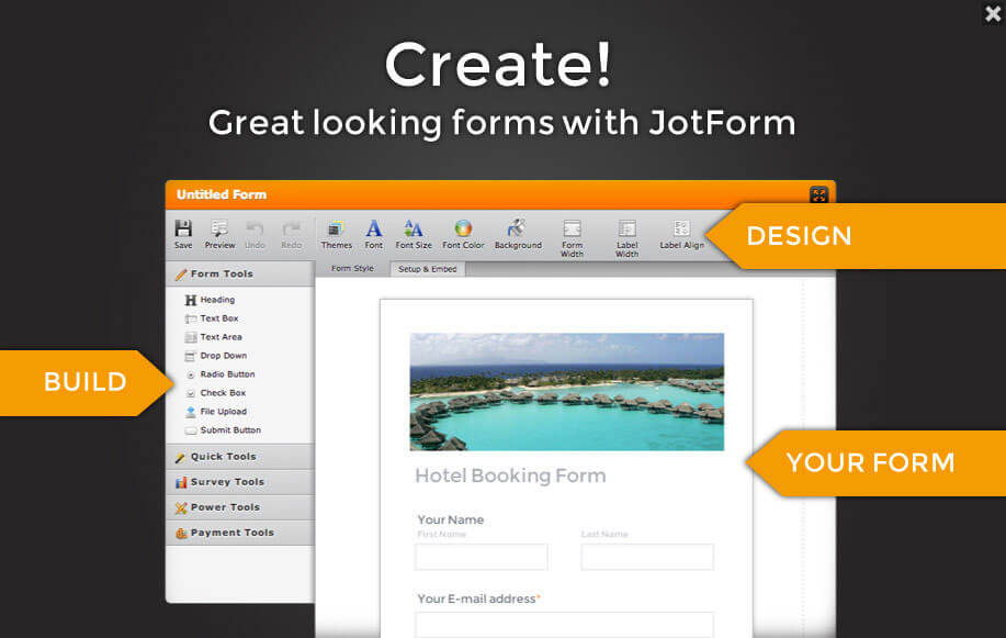 How The Form Builder Works:
